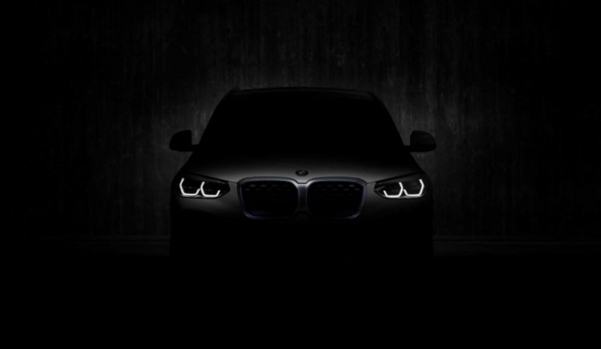 BMW iX3 – virtual debut of fully electric SUV on July 14 Image #1143930