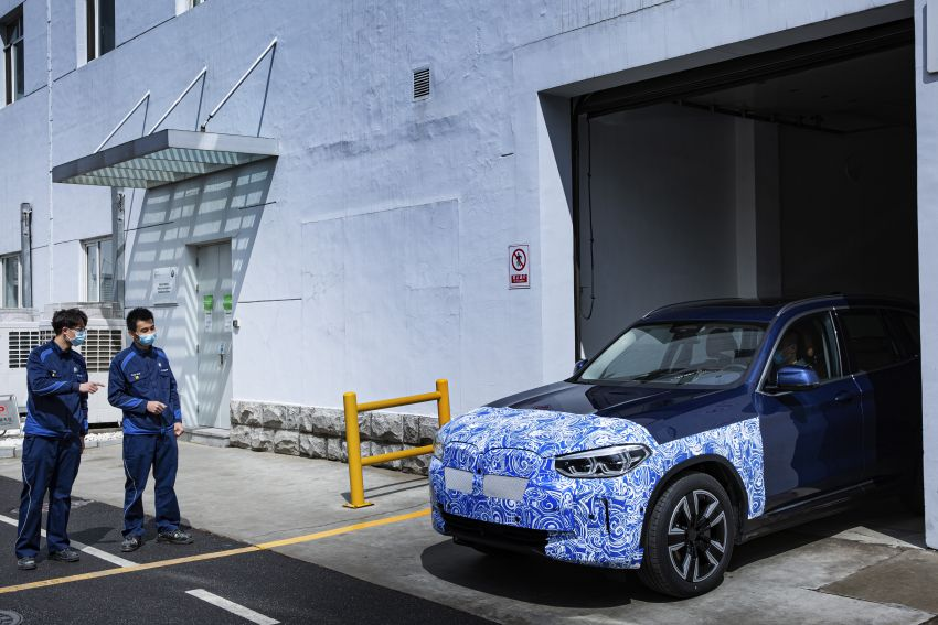 BMW iX3 debuts – 460 km range, 0-100 km/h in 6.8s; Adaptive M suspension as later over-the-air update Image #1146068