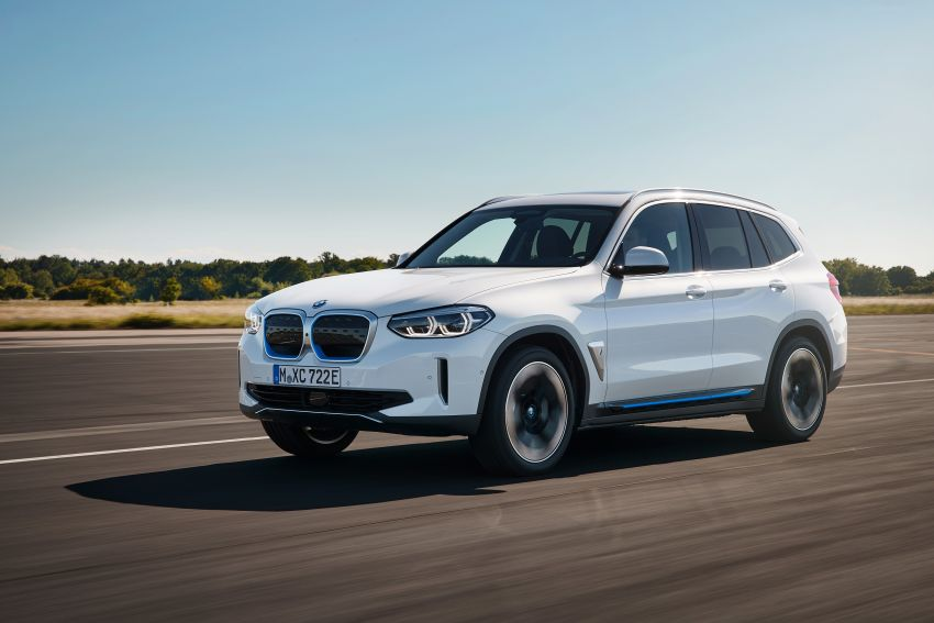 BMW iX3 debuts – 460 km range, 0-100 km/h in 6.8s; Adaptive M suspension as later over-the-air update Image #1146099