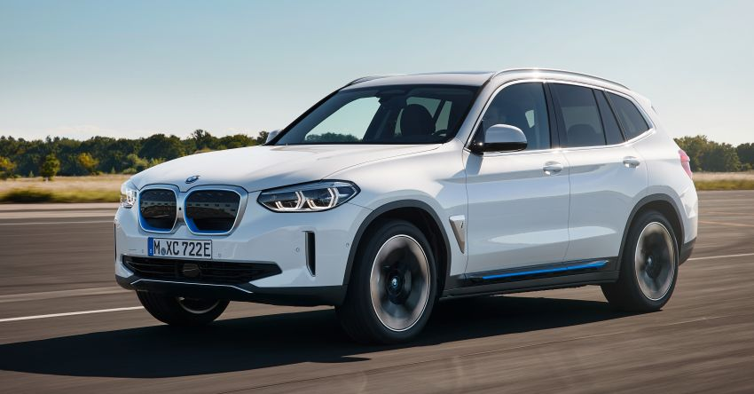 BMW iX3 debuts – 460 km range, 0-100 km/h in 6.8s; Adaptive M suspension as later over-the-air update Image #1146100