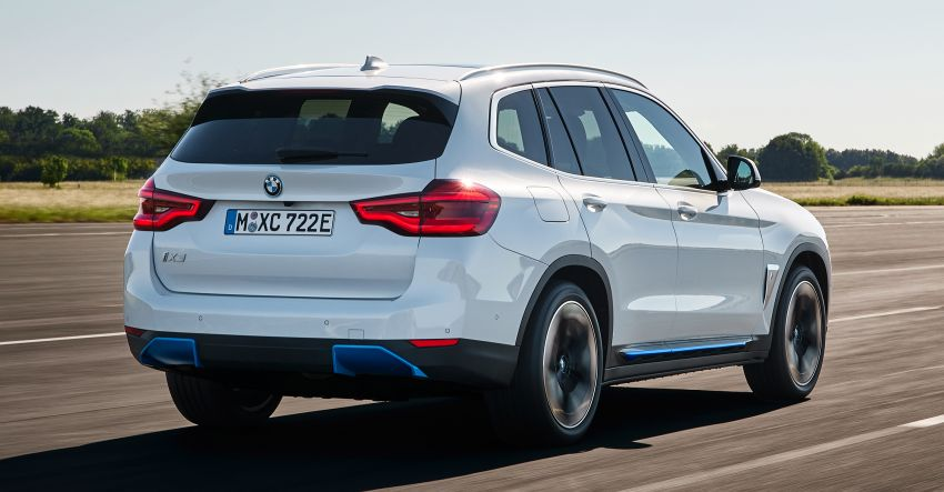 BMW iX3 debuts – 460 km range, 0-100 km/h in 6.8s; Adaptive M suspension as later over-the-air update Image #1146101