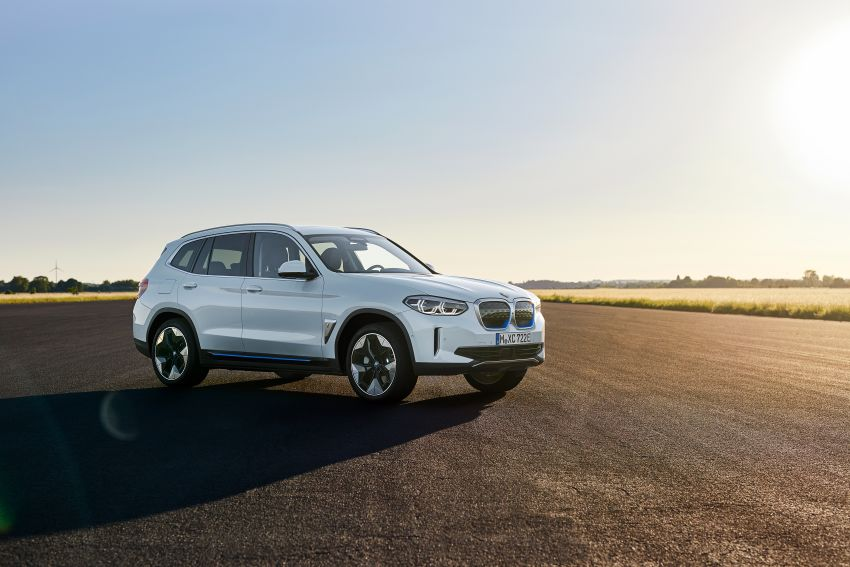 BMW iX3 debuts – 460 km range, 0-100 km/h in 6.8s; Adaptive M suspension as later over-the-air update Image #1146105