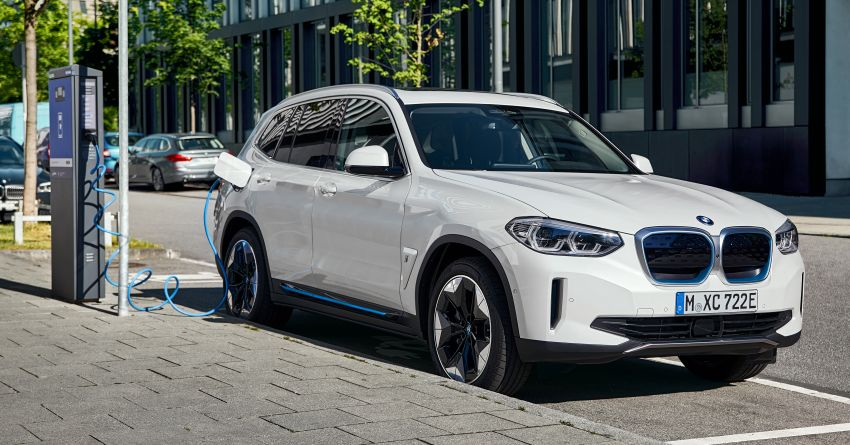 BMW iX3 debuts – 460 km range, 0-100 km/h in 6.8s; Adaptive M suspension as later over-the-air update Image #1146109