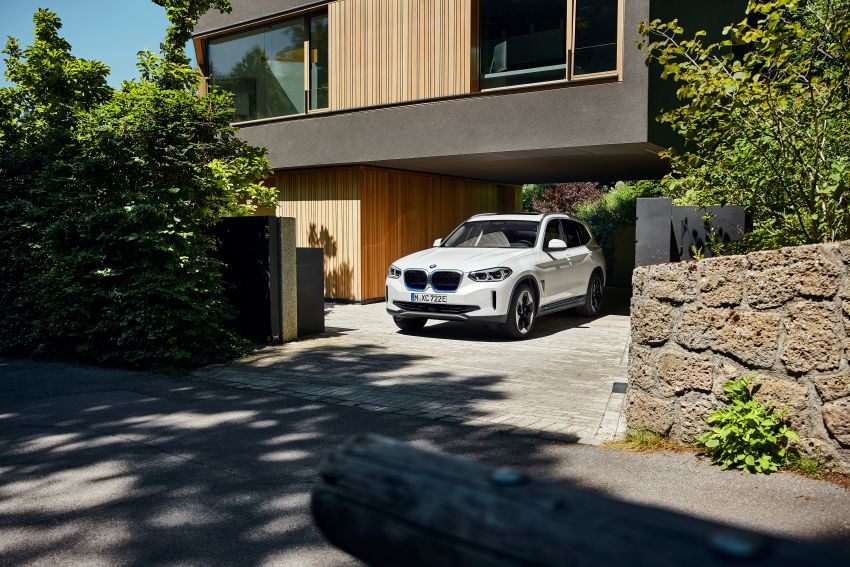 BMW iX3 debuts – 460 km range, 0-100 km/h in 6.8s; Adaptive M suspension as later over-the-air update Image #1146112