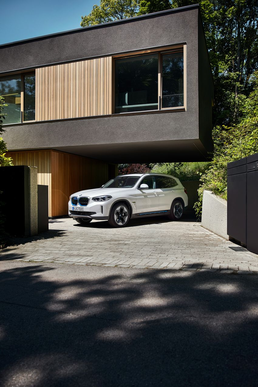 BMW iX3 debuts – 460 km range, 0-100 km/h in 6.8s; Adaptive M suspension as later over-the-air update Image #1146116