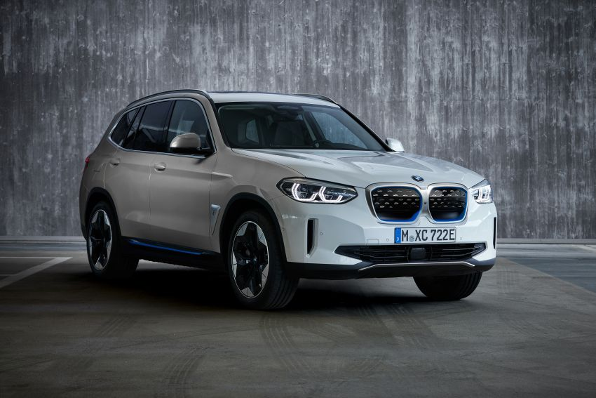 BMW iX3 debuts – 460 km range, 0-100 km/h in 6.8s; Adaptive M suspension as later over-the-air update Image #1146124