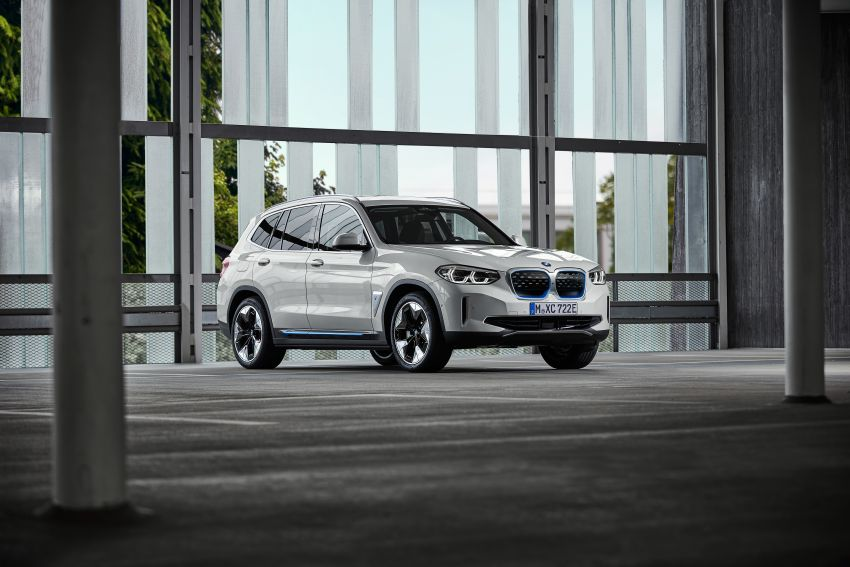 BMW iX3 debuts – 460 km range, 0-100 km/h in 6.8s; Adaptive M suspension as later over-the-air update Image #1146125