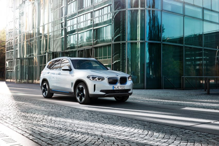 BMW iX3 debuts – 460 km range, 0-100 km/h in 6.8s; Adaptive M suspension as later over-the-air update Image #1146134