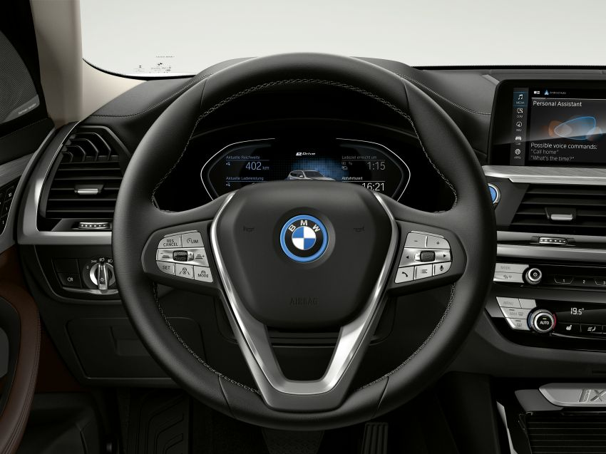 BMW iX3 debuts – 460 km range, 0-100 km/h in 6.8s; Adaptive M suspension as later over-the-air update Image #1146270