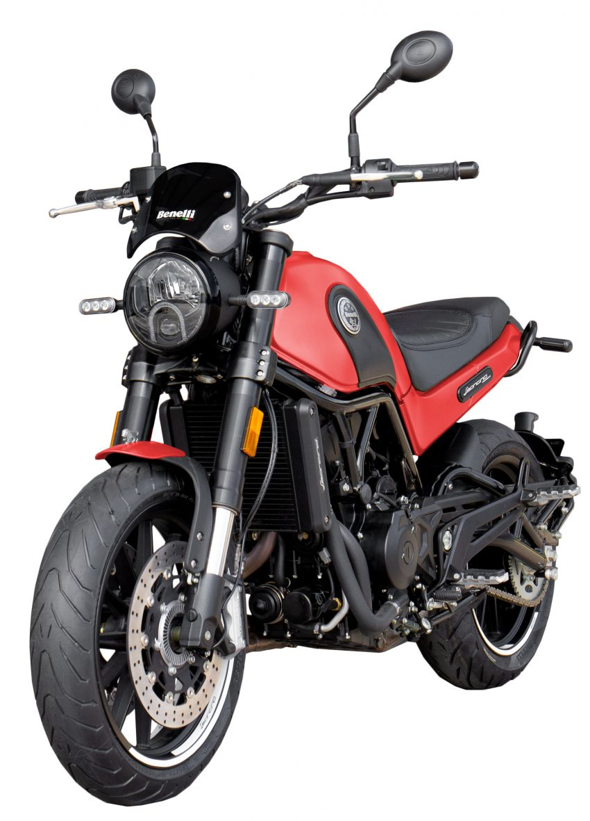 Benelli Leoncino 500 dalam warna baru – harga RM29k Image #1141575