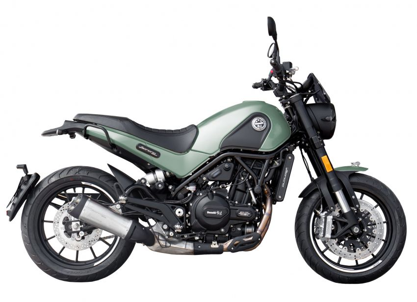 Benelli Leoncino 500 dalam warna baru – harga RM29k Image #1141580