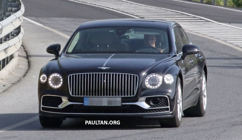 SPYSHOTS: Bentley Flying Spur Speed to go hybrid? Image #1144386