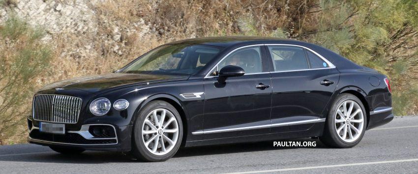 SPYSHOTS: Bentley Flying Spur Speed to go hybrid? Image #1144383