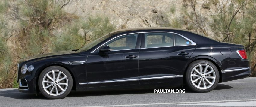 SPYSHOTS: Bentley Flying Spur Speed to go hybrid? Image #1144381