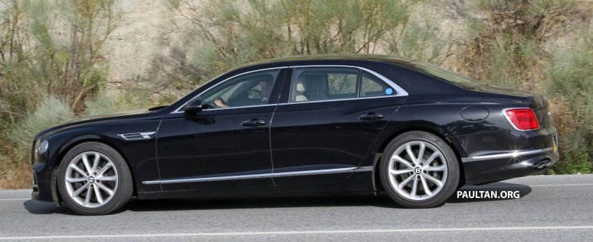 SPYSHOTS: Bentley Flying Spur Speed to go hybrid? Image #1144380