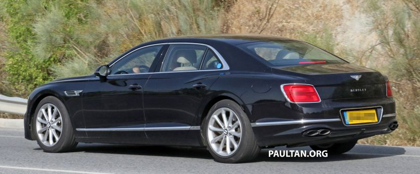 SPYSHOTS: Bentley Flying Spur Speed to go hybrid? Image #1144378