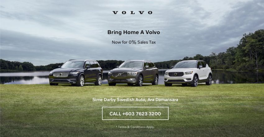 AD: Save up to RM31k with 0% sales tax on a new Volvo at Sime Darby Swedish Auto Ara Damansara! Image #1144412