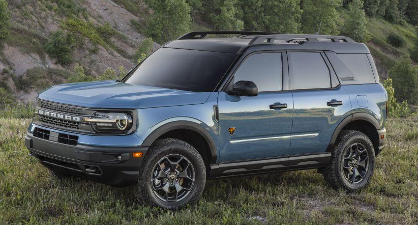 Ford Bronco Sport 2021 – SUV dengan kebolehan <em>off-road</em> luar biasa, sesuai untuk pelbagai aktiviti <em>outdoor</em> Image #1147293
