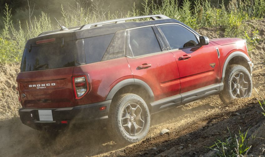 2021 Ford Bronco Sport – junior model is a rugged, outdoors entry in the mainstream small SUV class Image #1145798