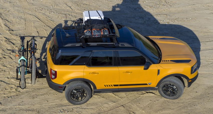 2021 Ford Bronco Sport – junior model is a rugged, outdoors entry in the mainstream small SUV class Image #1145800