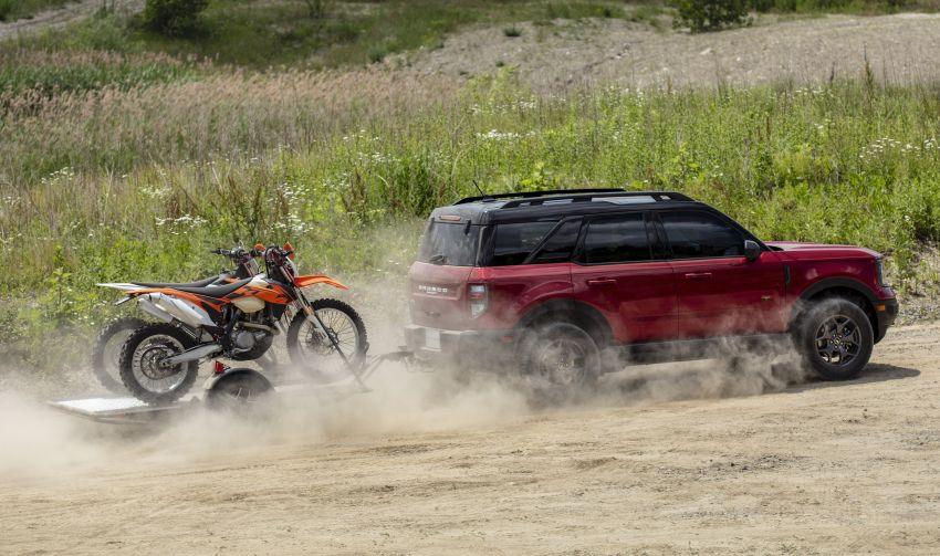 2021 Ford Bronco Sport – junior model is a rugged, outdoors entry in the mainstream small SUV class Image #1145802