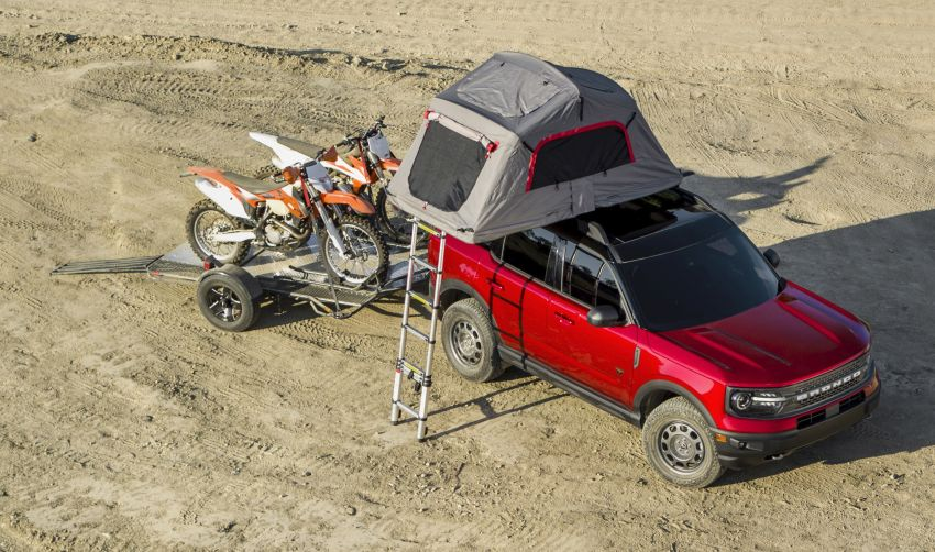 2021 Ford Bronco Sport – junior model is a rugged, outdoors entry in the mainstream small SUV class Image #1145803