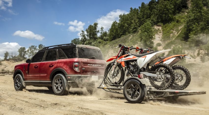 2021 Ford Bronco Sport – junior model is a rugged, outdoors entry in the mainstream small SUV class Image #1145804