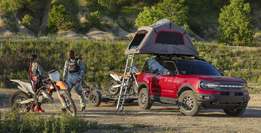 2021 Ford Bronco Sport – junior model is a rugged, outdoors entry in the mainstream small SUV class Image #1145808