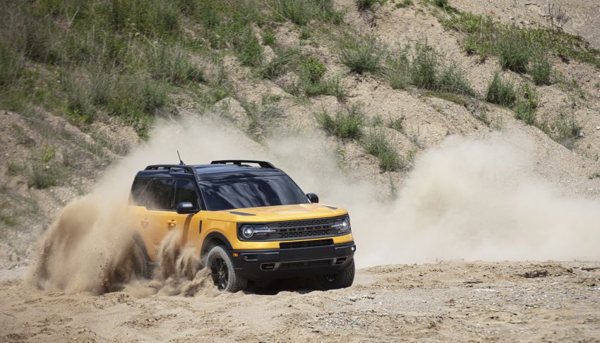 2021 Ford Bronco Sport – junior model is a rugged, outdoors entry in the mainstream small SUV class Image #1145817