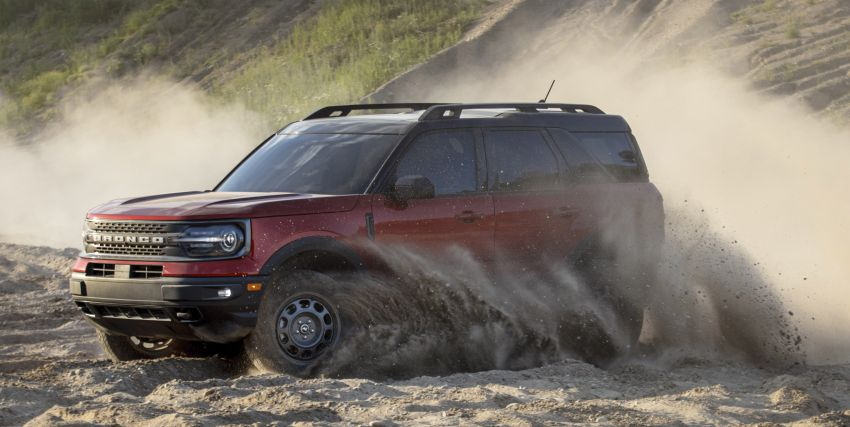 2021 Ford Bronco Sport – junior model is a rugged, outdoors entry in the mainstream small SUV class Image #1145821
