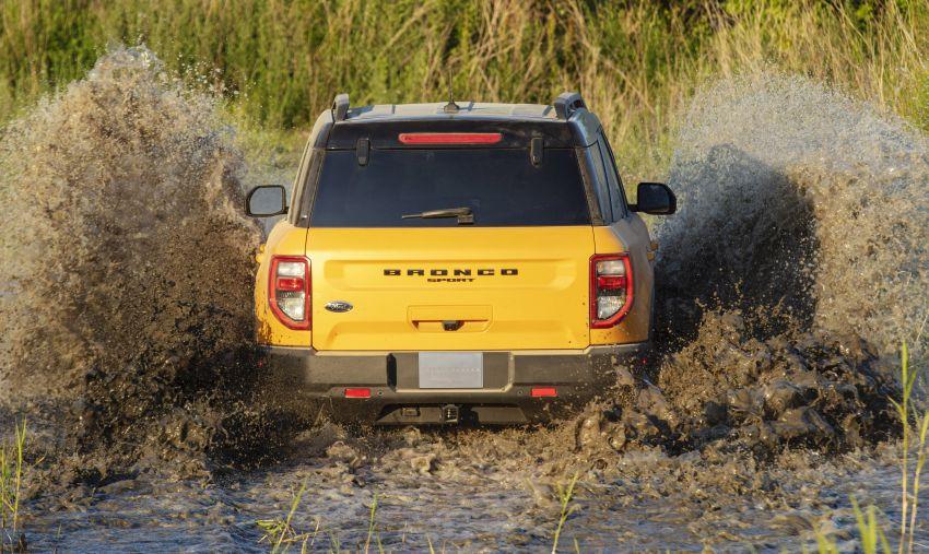 Ford Bronco Sport 2021 – SUV dengan kebolehan <em>off-road</em> luar biasa, sesuai untuk pelbagai aktiviti <em>outdoor</em> Image #1147270
