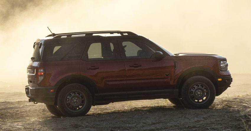 Ford Bronco Sport 2021 – SUV dengan kebolehan <em>off-road</em> luar biasa, sesuai untuk pelbagai aktiviti <em>outdoor</em> Image #1147274