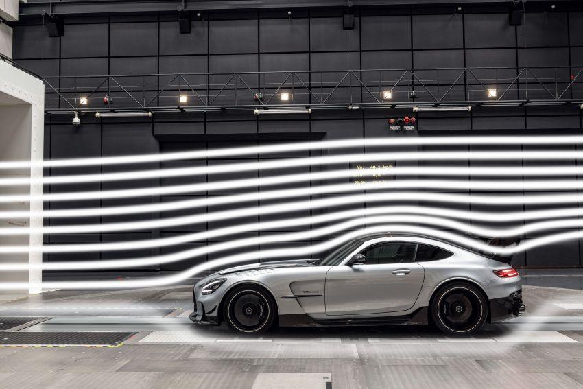 C190 Mercedes-AMG GT Black Series debuts – 4L twin-turbo flat-plane V8; 730 PS, 800 Nm; crazy aero Image #1146553