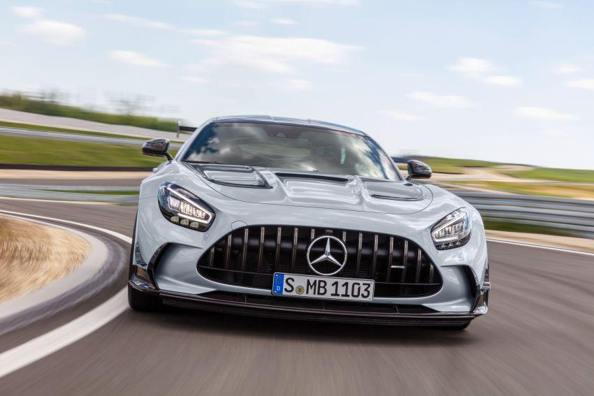 C190 Mercedes-AMG GT Black Series debuts – 4L twin-turbo flat-plane V8; 730 PS, 800 Nm; crazy aero Image #1146434