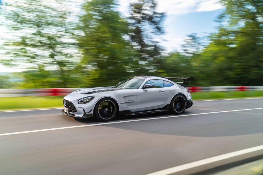 C190 Mercedes-AMG GT Black Series debuts – 4L twin-turbo flat-plane V8; 730 PS, 800 Nm; crazy aero Image #1146450