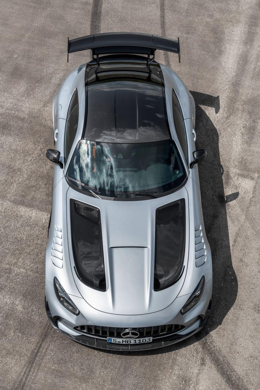 C190 Mercedes-AMG GT Black Series debuts – 4L twin-turbo flat-plane V8; 730 PS, 800 Nm; crazy aero Image #1146471