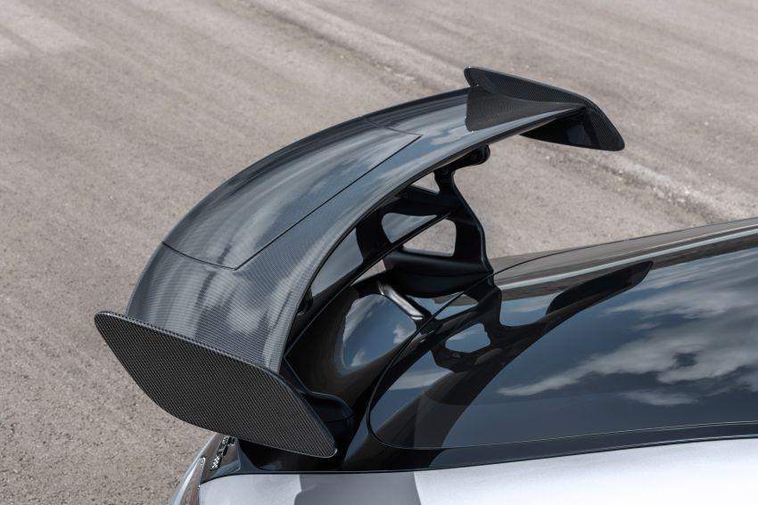 C190 Mercedes-AMG GT Black Series debuts – 4L twin-turbo flat-plane V8; 730 PS, 800 Nm; crazy aero Image #1146501