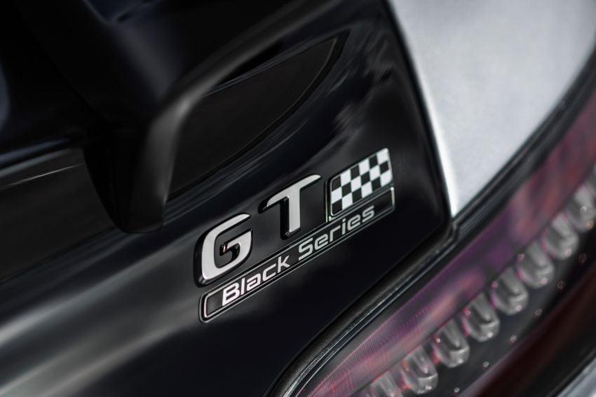 C190 Mercedes-AMG GT Black Series debuts – 4L twin-turbo flat-plane V8; 730 PS, 800 Nm; crazy aero Image #1146502