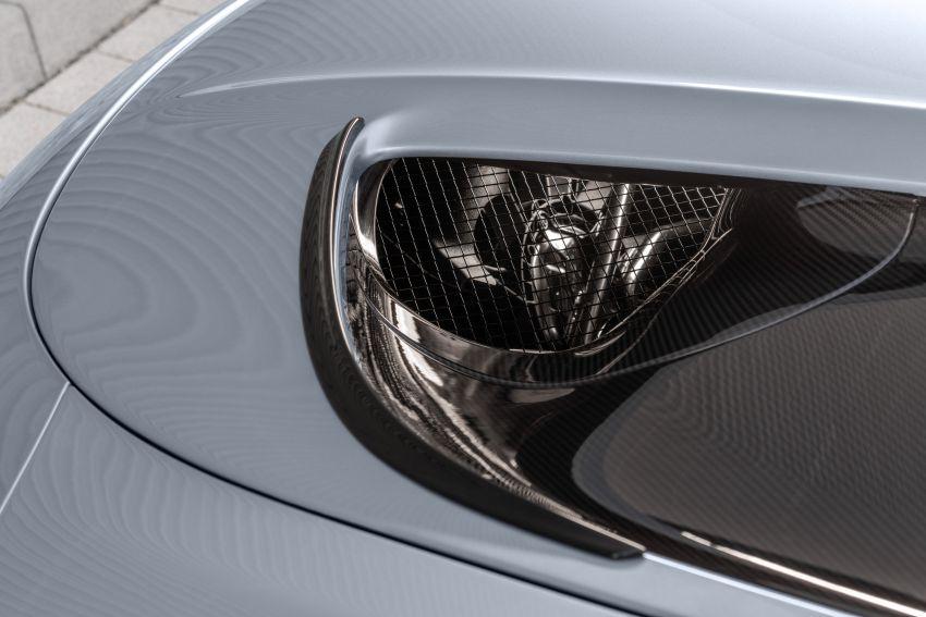 C190 Mercedes-AMG GT Black Series debuts – 4L twin-turbo flat-plane V8; 730 PS, 800 Nm; crazy aero Image #1146508
