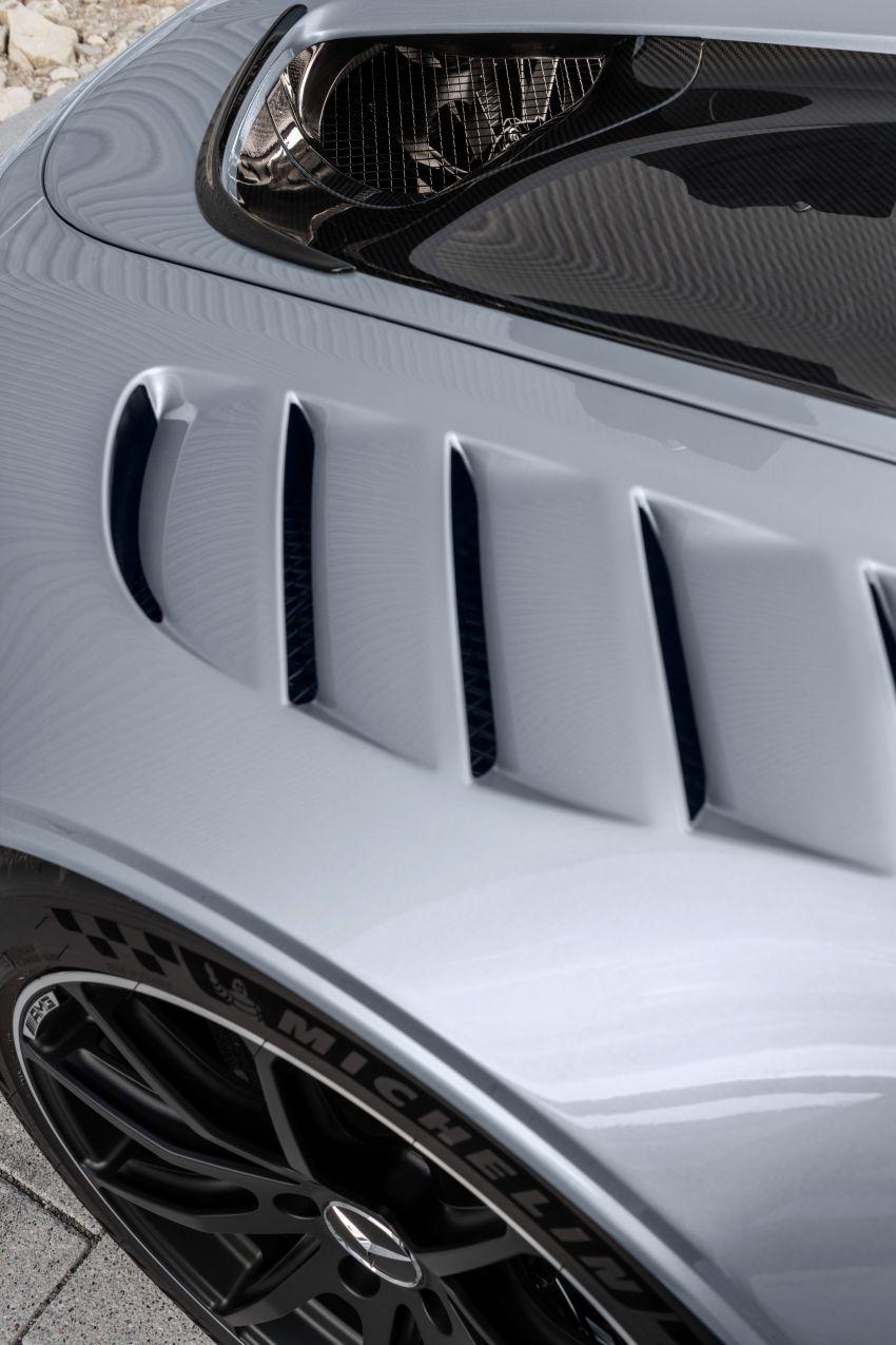 C190 Mercedes-AMG GT Black Series debuts – 4L twin-turbo flat-plane V8; 730 PS, 800 Nm; crazy aero Image #1146510