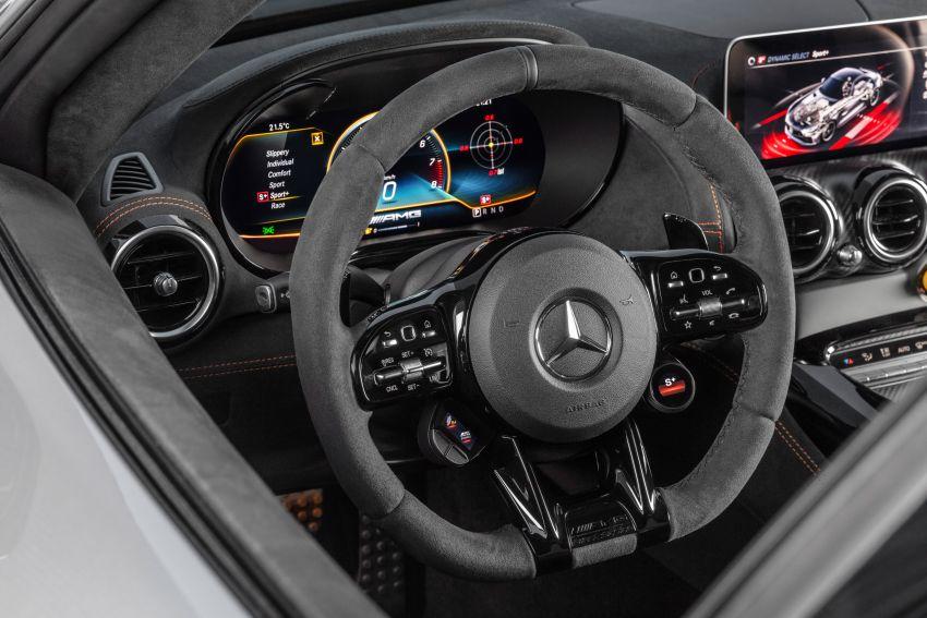 C190 Mercedes-AMG GT Black Series debuts – 4L twin-turbo flat-plane V8; 730 PS, 800 Nm; crazy aero Image #1146528
