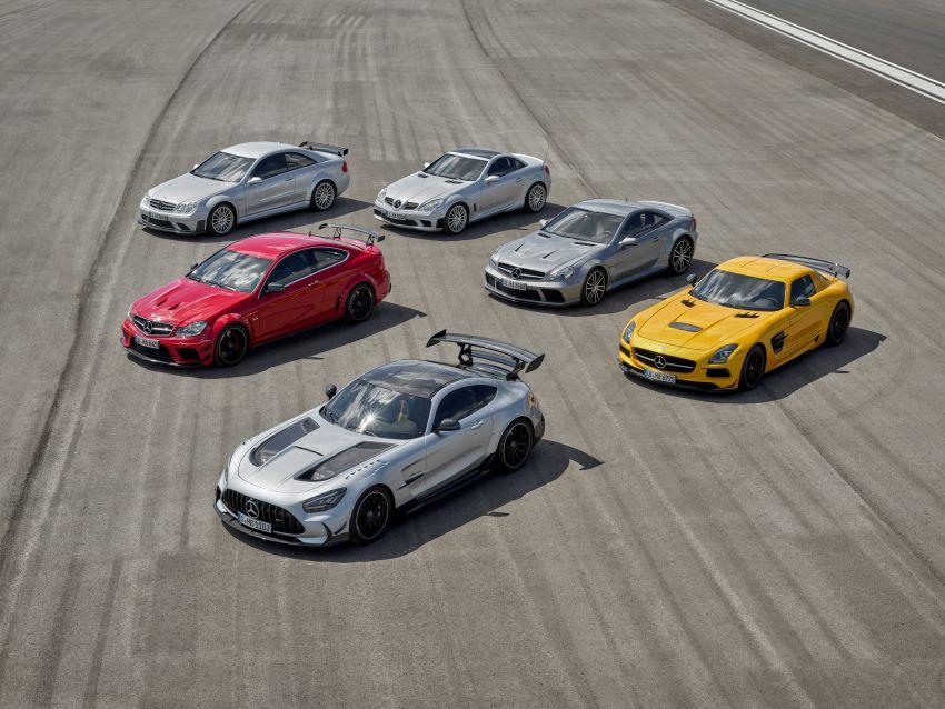 C190 Mercedes-AMG GT Black Series debuts – 4L twin-turbo flat-plane V8; 730 PS, 800 Nm; crazy aero Image #1146533