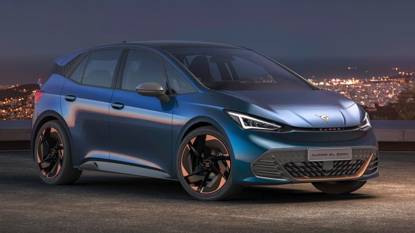 Cupra el-Born – all-electric hot hatch to debut in 2021 Image #1143417