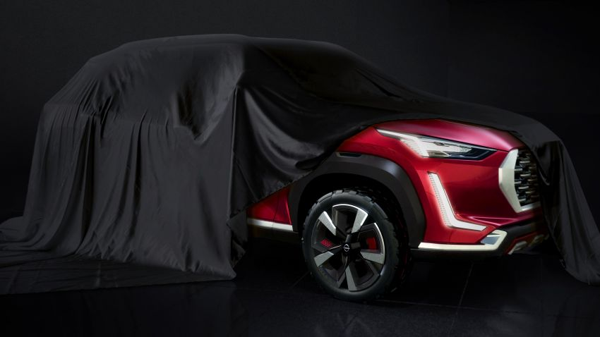 Nissan Magnite budget SUV concept teased for India Image #1140867