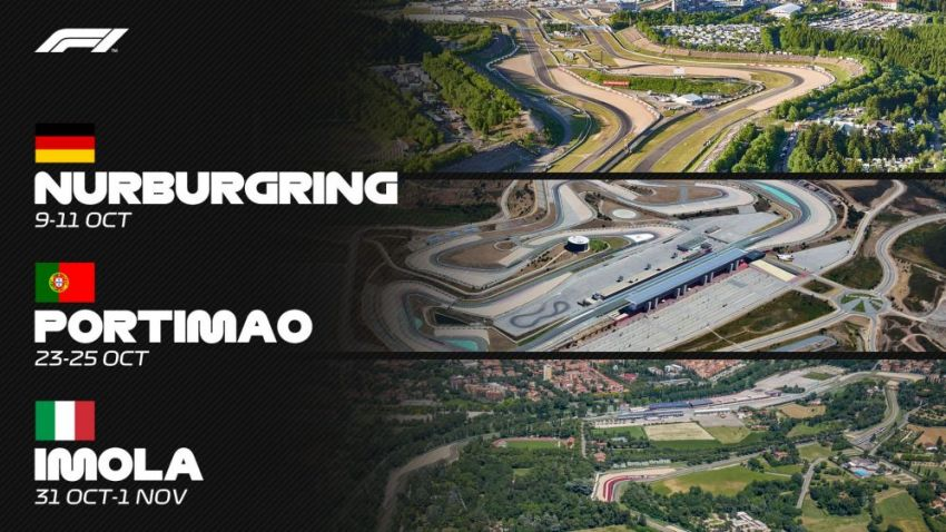 Formula 1 2020: Brazil, USA, Mexico, Canada rounds to be replaced with Portimao, Nurburgring and Imola Image #1152422