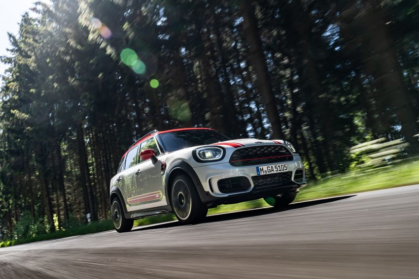 2020 F60 MINI John Cooper Works Countryman facelift debuts – updated styling; new kit; 306 PS and 450 Nm Image #1150404