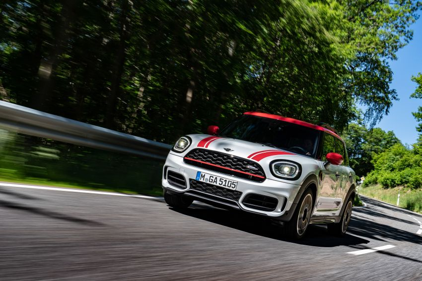 2020 F60 MINI John Cooper Works Countryman facelift debuts – updated styling; new kit; 306 PS and 450 Nm Image #1150413