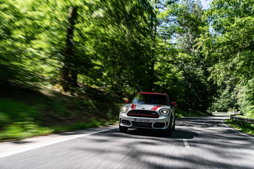 2020 F60 MINI John Cooper Works Countryman facelift debuts – updated styling; new kit; 306 PS and 450 Nm Image #1150415