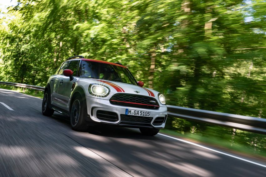 2020 F60 MINI John Cooper Works Countryman facelift debuts – updated styling; new kit; 306 PS and 450 Nm Image #1150416