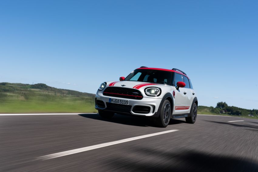 2020 F60 MINI John Cooper Works Countryman facelift debuts – updated styling; new kit; 306 PS and 450 Nm Image #1150417
